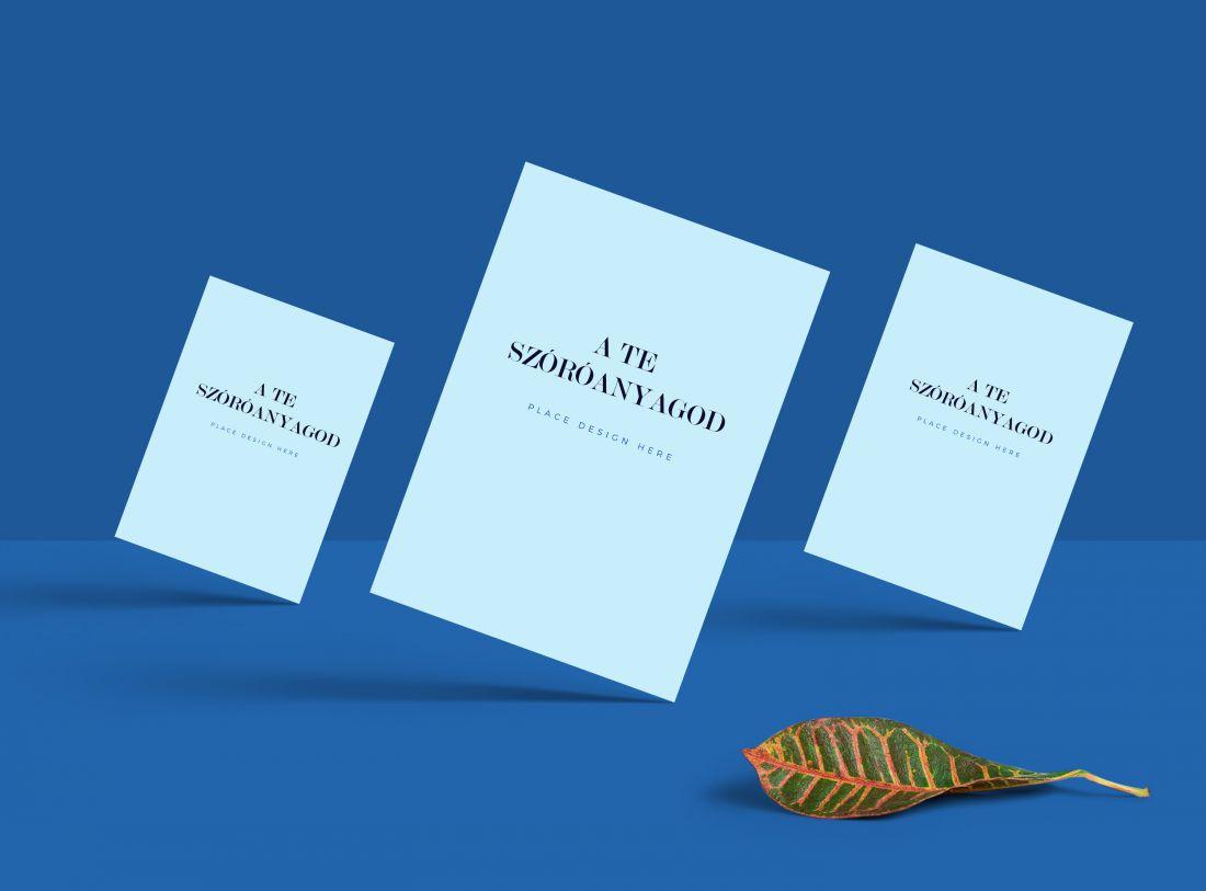 Sokszorosítás, szórólapok, flyerek nyomtatása A5 méretben fekete fehérben.