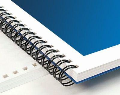 Műanyag vagy fémspirálozás A4 es méretig rövid vagy hosszú oldalon